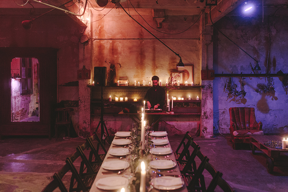 Clandestine Dinner Party Barcelona